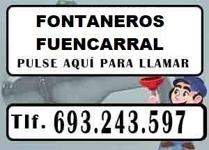Fontaneros Fuencarral Madrid Urgentes