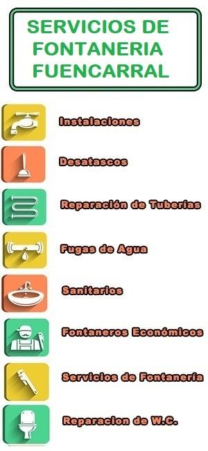 servicios de fontaneria en Fuencarral