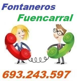 Telefono de la empresa fontaneros Fuencarral