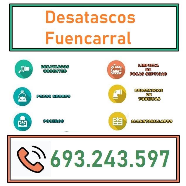 Desatascos Fuencarral